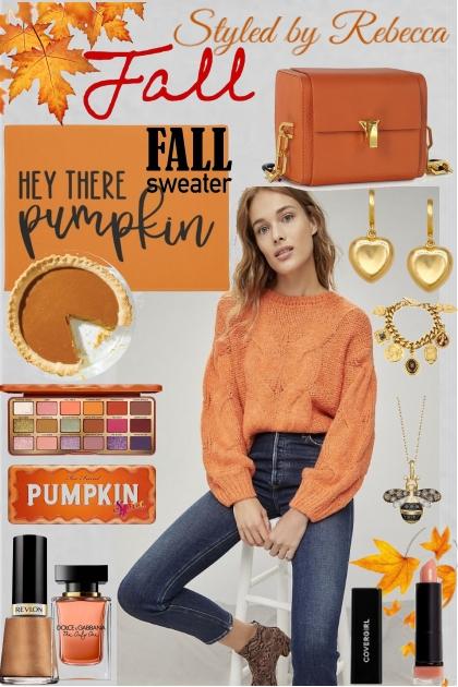 Pumpkin Color Style