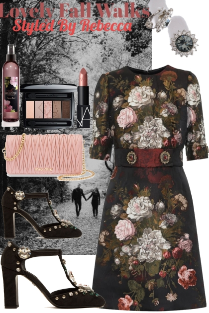 Florals,walks and love in the fall