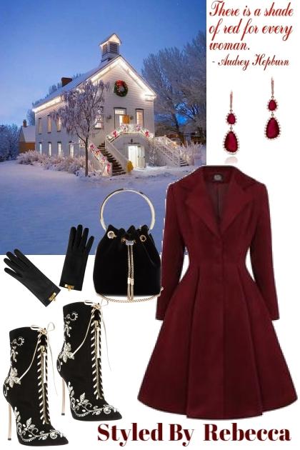 Deep Winter Red