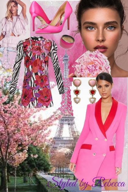 Paris pinks in autumn
