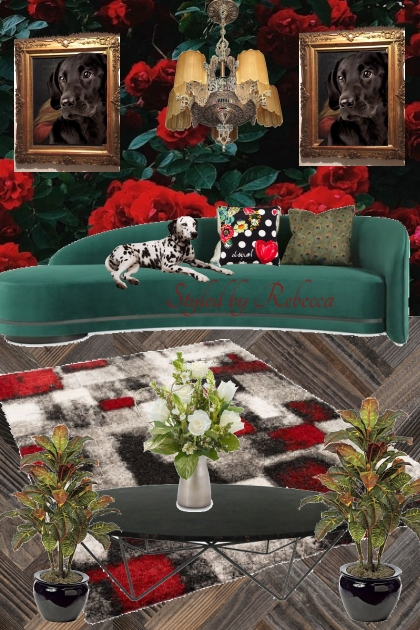 Living Room Pooch Approved- Fashion set