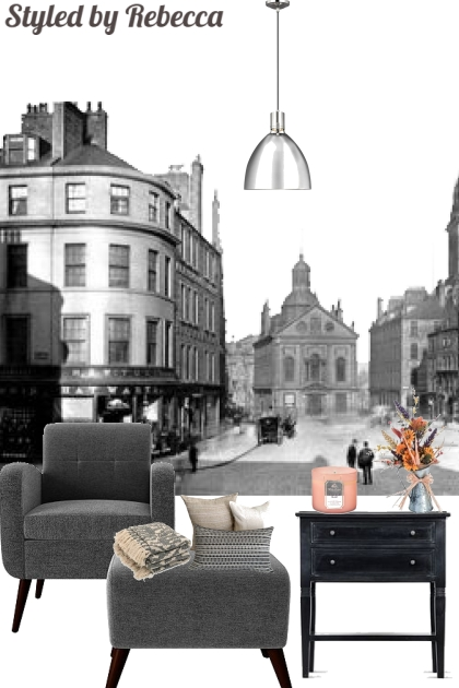 City Spaces -Flat Style
