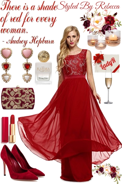 Party Shade Of Red