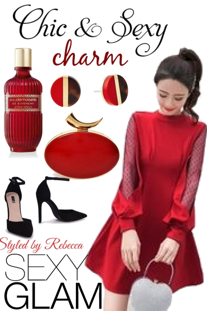 Red is so sexy,chic and charming