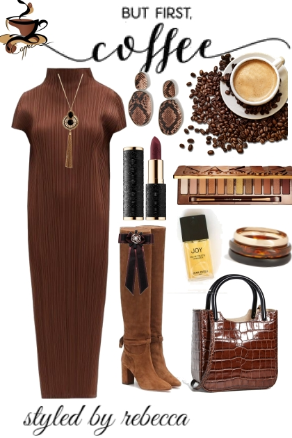 coffee dress