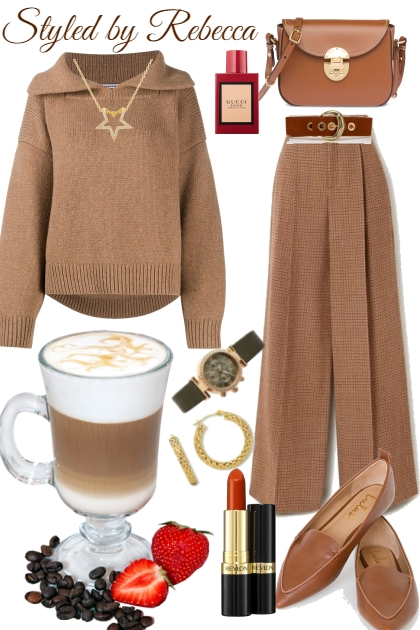 Warming Up Brown Looks