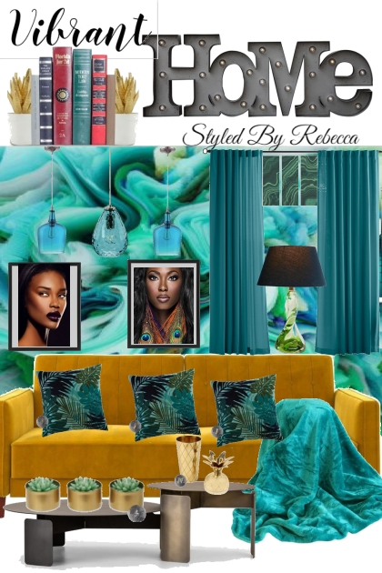 Vibrant Home Life- Fashion set