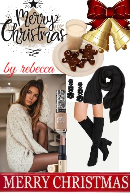 Holiday boots- Fashion set