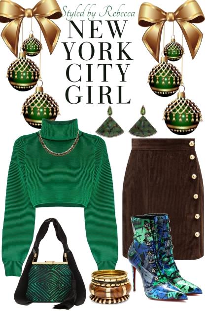 green city girl