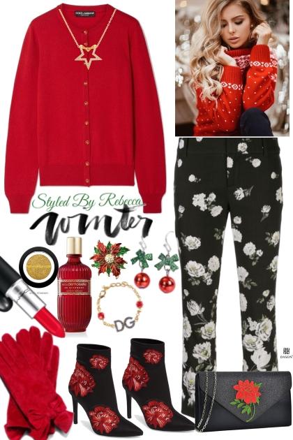 Winter Flower Power Hour Style- Fashion set