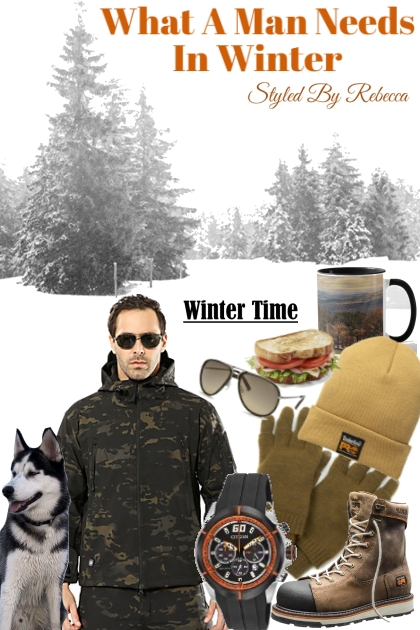 What A Man Needs For Winter- Modekombination
