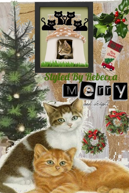 Merry Kittens Art- Modekombination