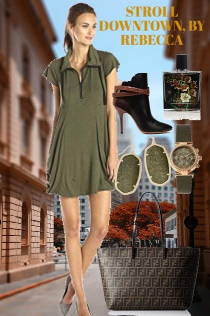 STROLL DOWNTOWN- Fashion set