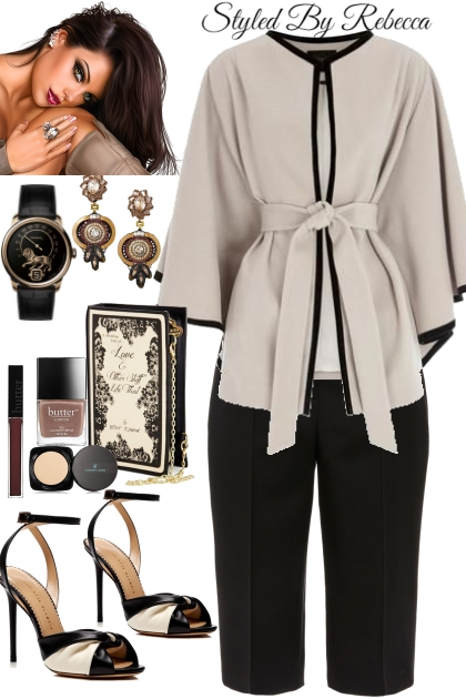Casual Work Look -Style 1
