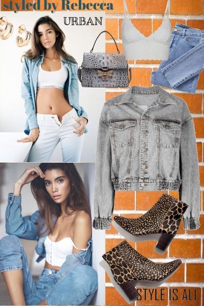 Jean Life and Urban Style- Fashion set