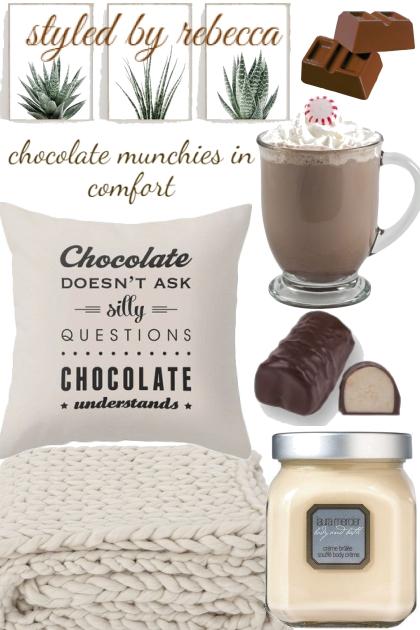 chocolate munchies in comfort