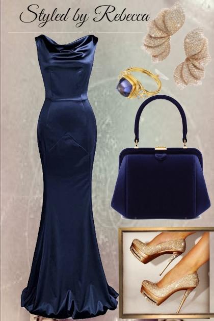 dinner in a blue dress-1/4/21