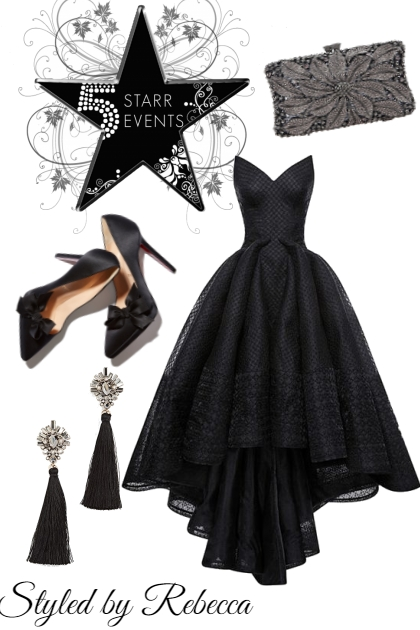 Traditional Black Dress