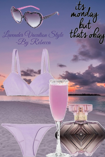 Lavender Vacation Style