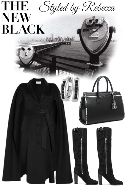YSL Chic Trends in Coats