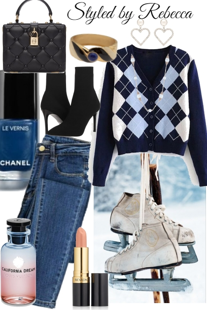Winter wardrobe in January