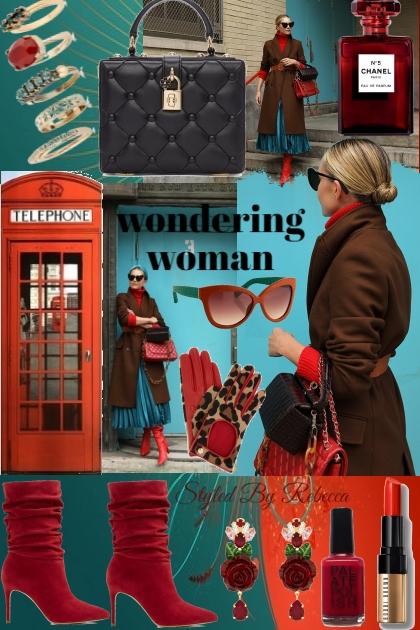 wondering woman