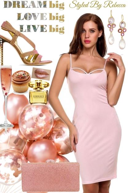 30's Birthday Girls In Pink