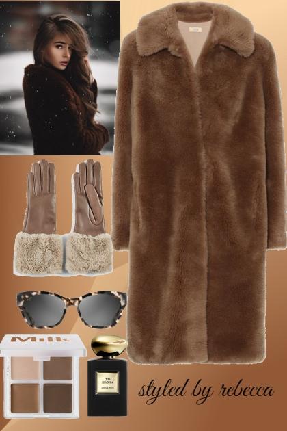 Winter Brown Fur