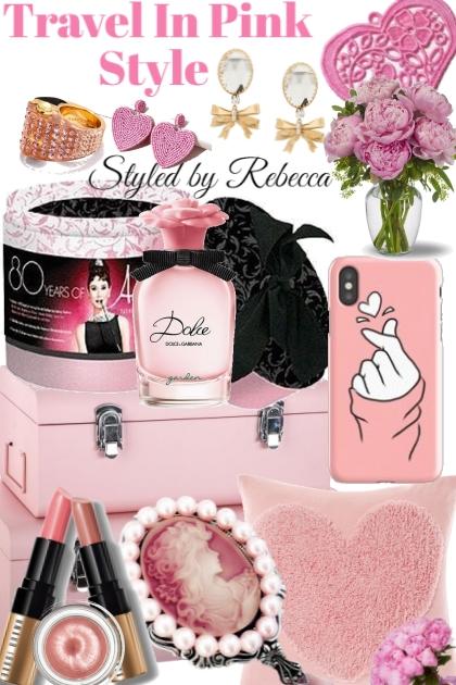 Travel in Pink- Fashion set