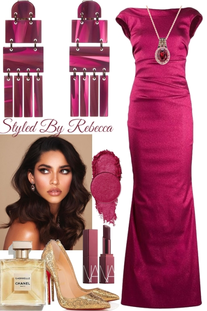Berry Beautiful Gown