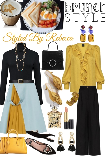 Brunch Style With Mustard Yellow