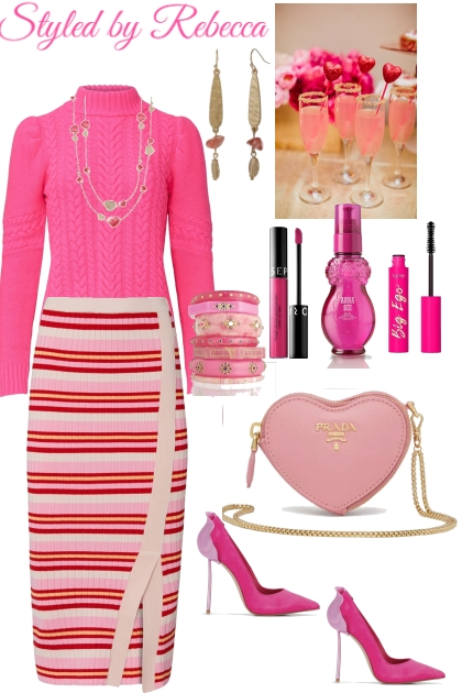Showing Pink Some  Love Style