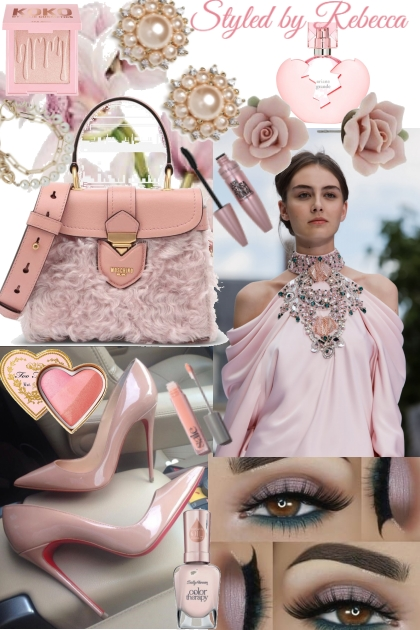 All about the  pink in  spring