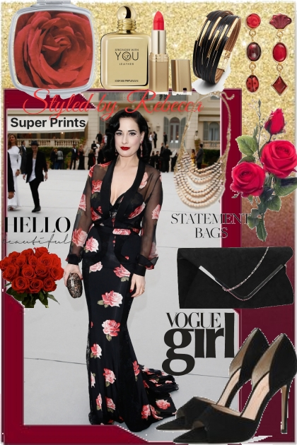 Floral Fashion Around Town- コーディネート