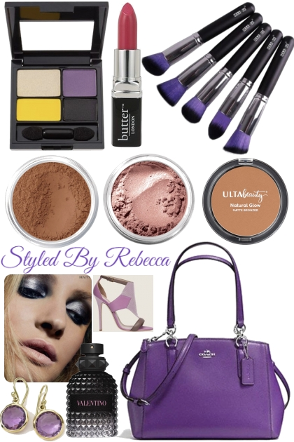 Get Ready With Purple Bags