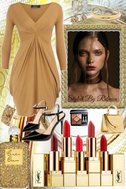 Caramel Dress