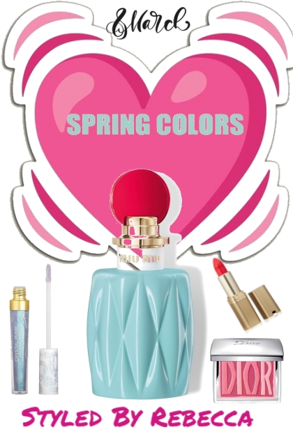 Spring Color- Beauty For March