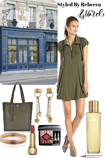 March In Casual Olive Green