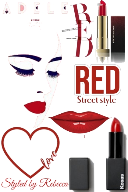 Red Lips On The Street