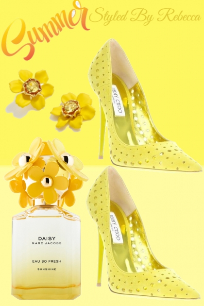 Summer Golden Flowers