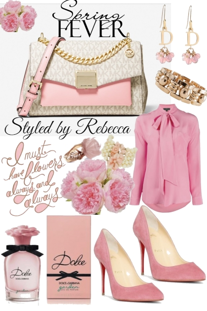 Spring Pinks-3/25/21- Fashion set