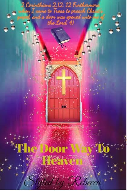 a door was opened unto me