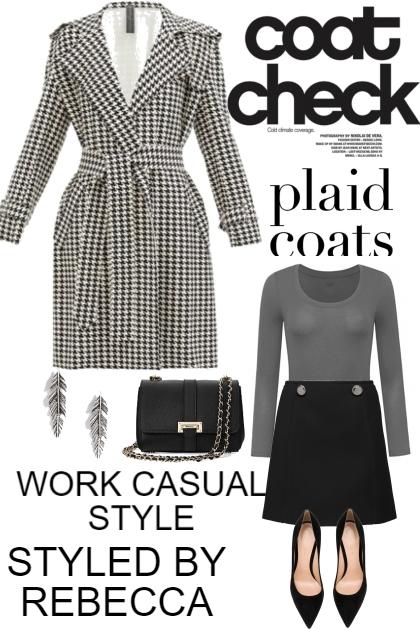 COAT CHECK -WORK CASUAL