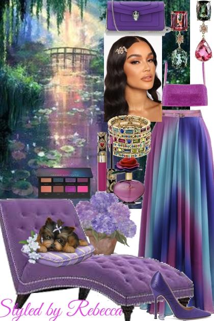 Purple Rainbow's