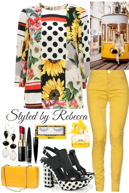 Style Full Of Sunshine- Fashion set