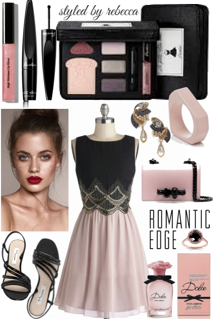 Romantic edge date look