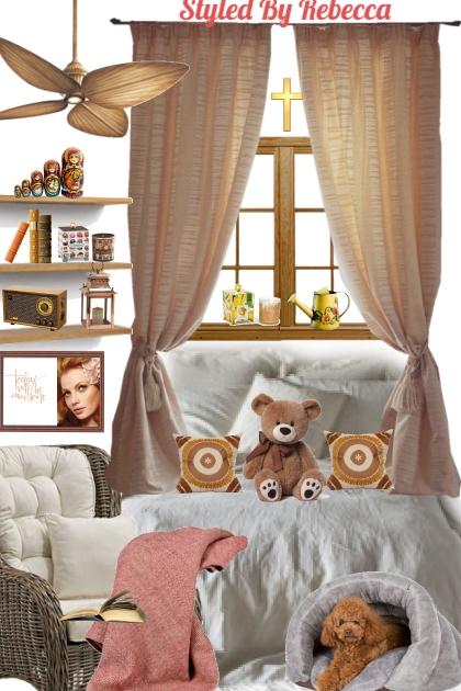 April Cozy Bed Room