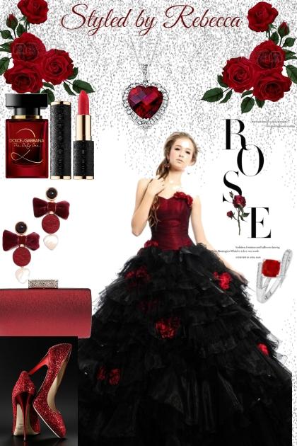 Winter Rose In The Bloom- Modna kombinacija