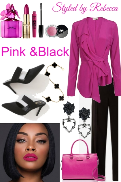pink and black done my way
