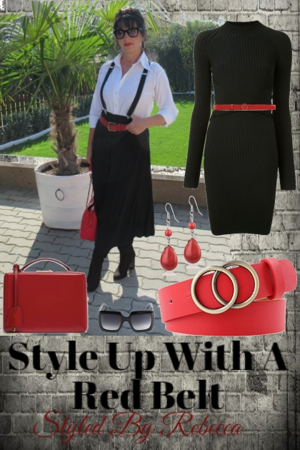 Red Belt Style Up